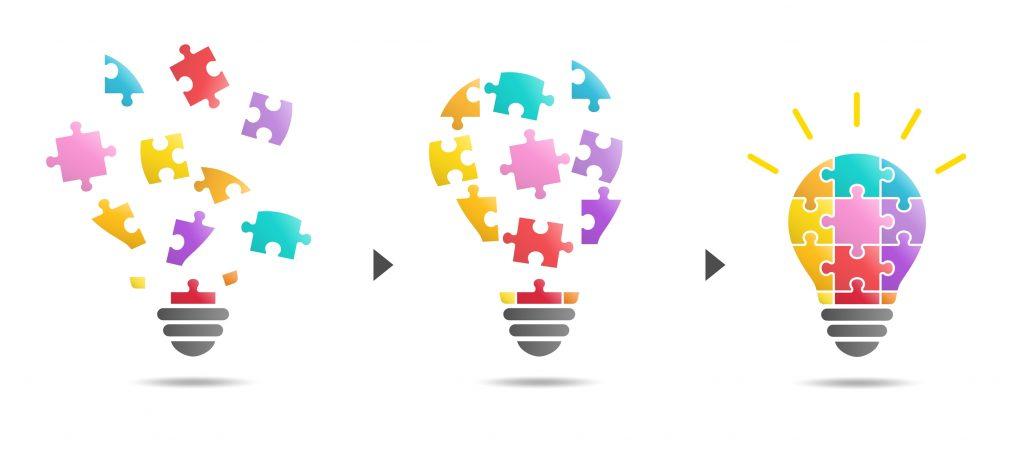 パズル、組み合わせ,DX,デジタルトランスフォーメーション,高度IT人材